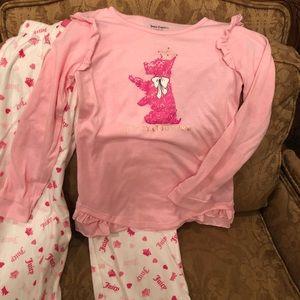 Juicy Couture Girls Pajamas